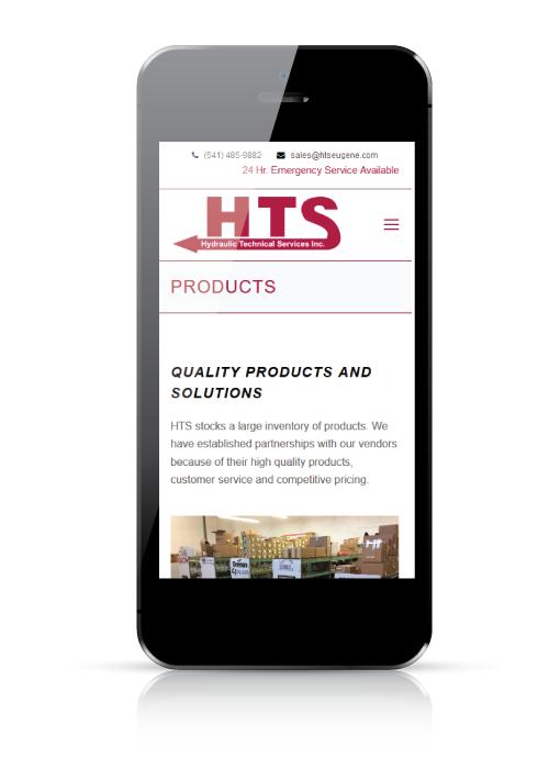 HTSEugene - web design