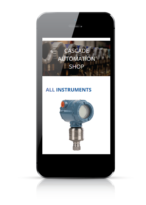 Cascade Automation - web design