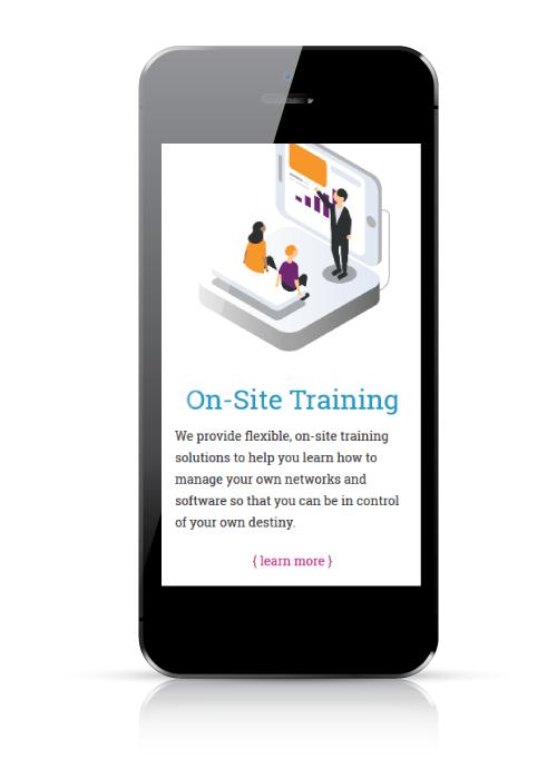 Partnered Solutions IT - web design