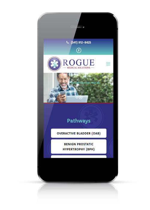 Rogue Medical Solutions - web design