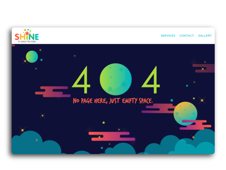 Our Best 404 Pages