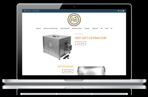 Kief Thief Web Design Featured Image